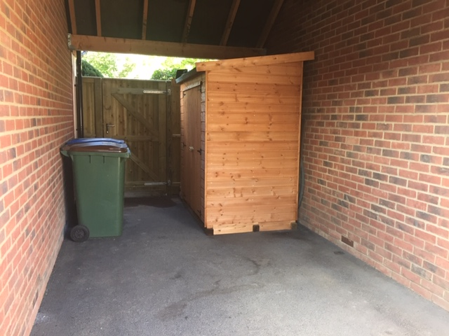 Suffolk Pent Treated Storage Shed - Ridgeway