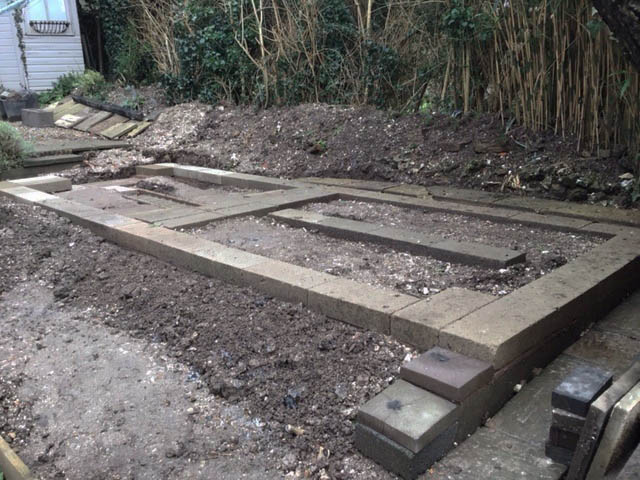 Garden Shed Concrete Base - Devereux