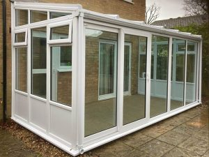 Glass Roof Sun Lounge Style Conservatory - Potter