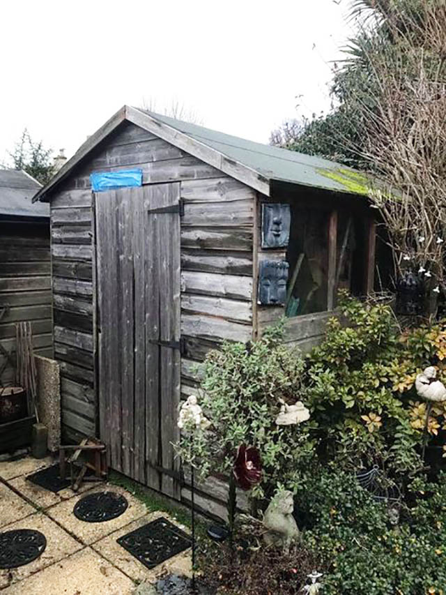 Old Shed to be Replaced - Barnett