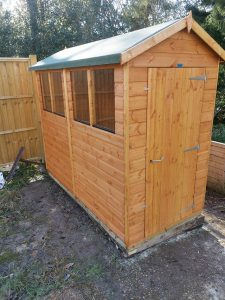 Power Apex 8x4 Shed - Grinsted