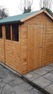 Powershed Apex Shed Installation 8x6 - Whitmore