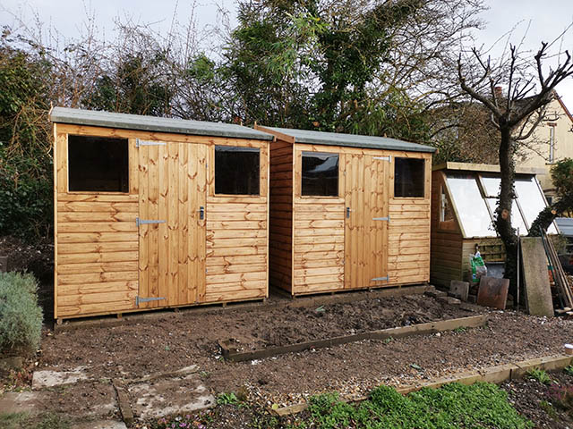 Regency Apent 8x6 Shed Installation x 2 - Devereux