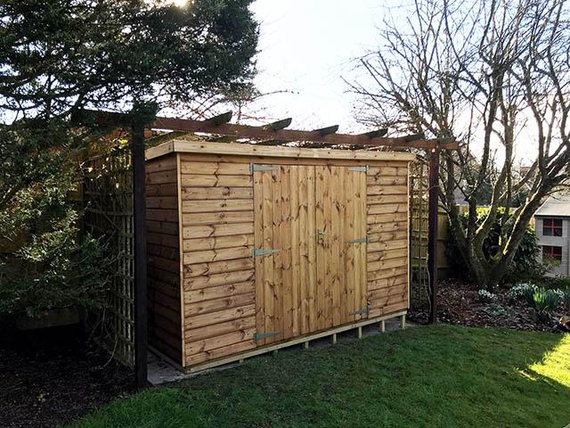 Regency Pent 10x5 Shed Installation - Gunning