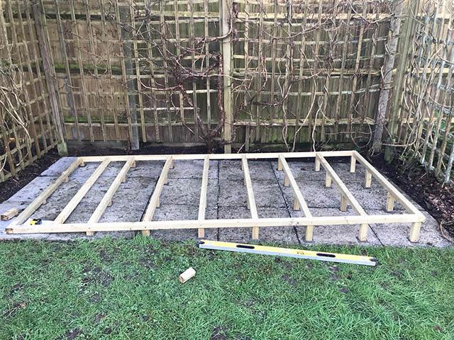 Timber Frame Base - Gunning