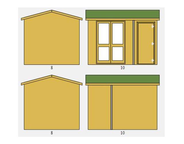 Arley Pavilion Summerhouse Computer Design Picture - Richardson