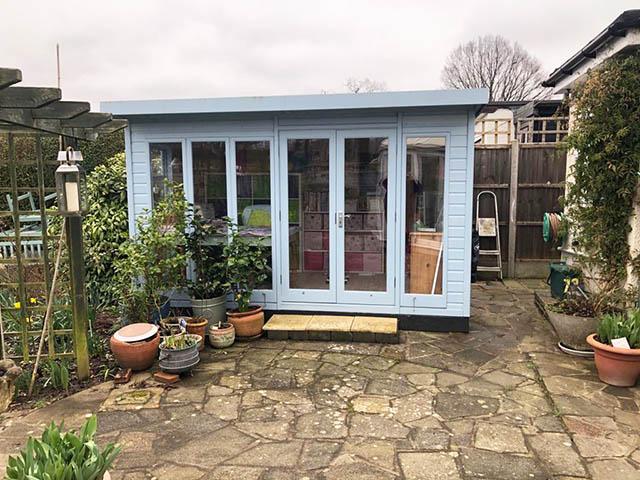 Malvern Studio Pent Summerhouse Installation - Goodship