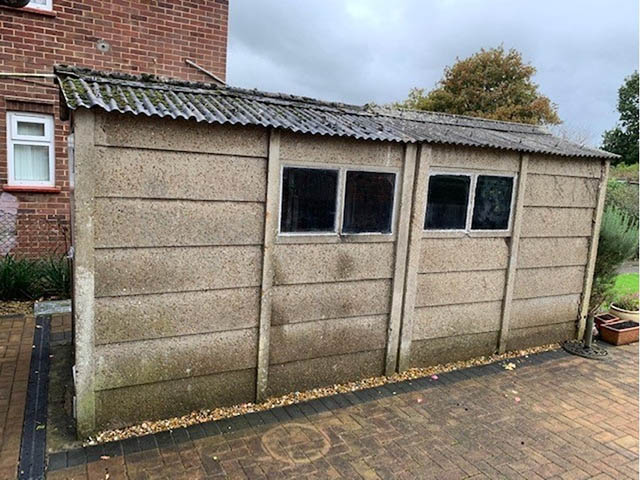 Old Garage that we Replaced - Pellerito