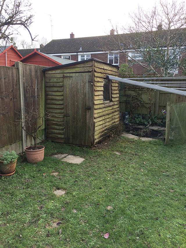 Old Garden Shed Removal in Horsham - Innes