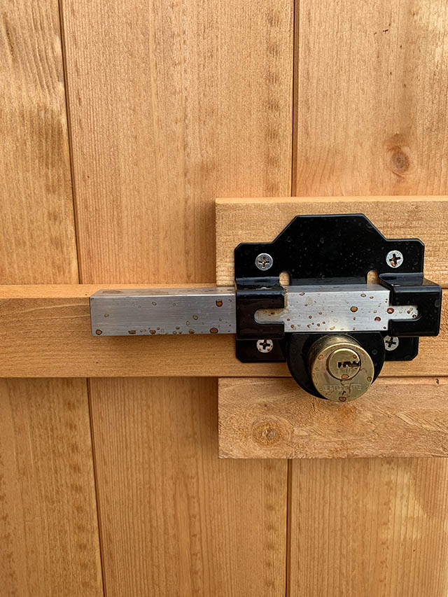 Powershed Security Apex 4x4 Internal Lock - Showcentre Display Model