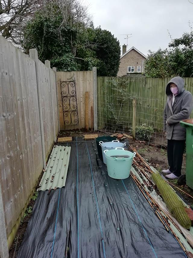 Garden Building Survey Picture - Slattery