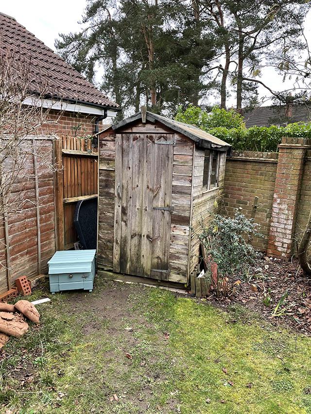 Garden Building Survey Picture in Storrington - Page