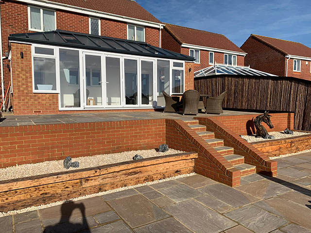 LivinRoof Solid Roof Conservatory Extension in Newhaven East Sussex - Shephard