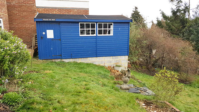 Malvern Heavy Duty Apex Workshop Installation in Brighton - Tambling