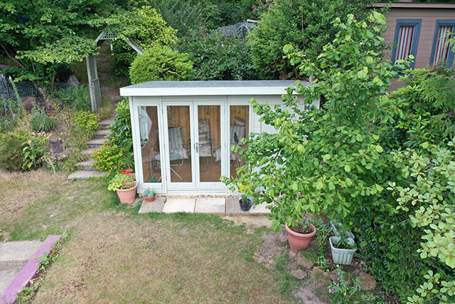 Malvern Studio Pent 12x8 Summerhouse - Wood