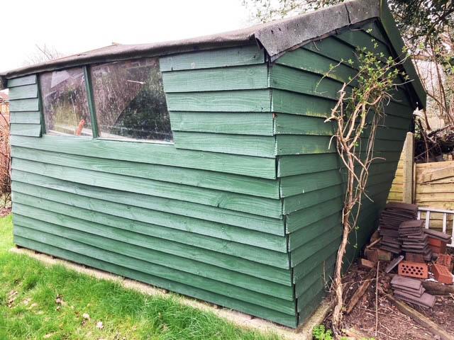 Old Garden Shed Removed in Felbridge - Kenyon