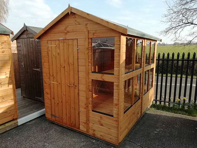Powersheds 8x6 Potting Shed Now on Display at Our Showcentre - April 2021
