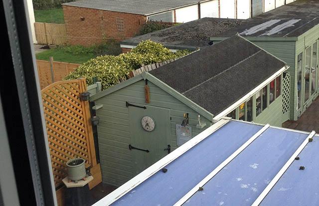 ReRoof Garden Building Survey Picture - Friday