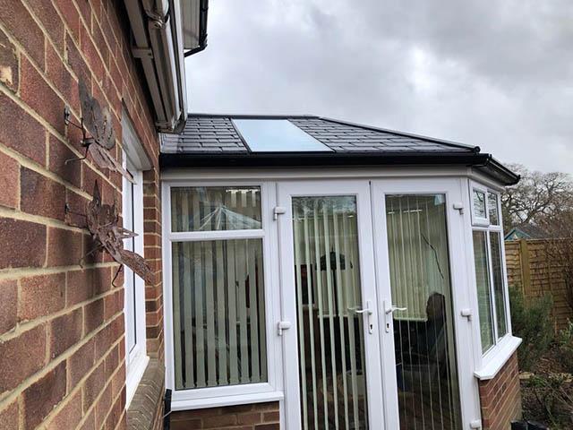 Solid Roof UltraRoof380 Conservatory Roof Replacement in Broadbridge Heath - Jackson
