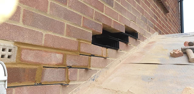 UltraRoof380 Tiled Roof Cavity Trays Being Fitted - Jackson