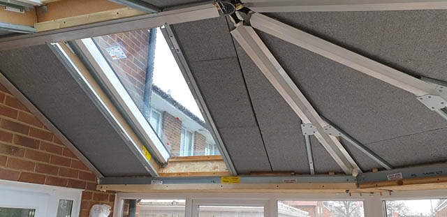 UltraRoof380 Tiled Roof Interior Before Plasterboard is Installed - Jackson