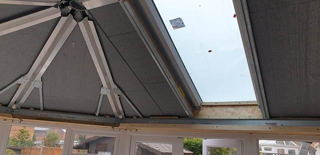 UltraRoof380 Tiled Roof Interior During installation - Jackson