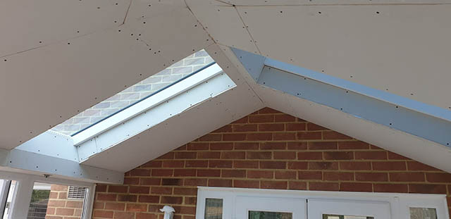 UltraRoof380 Tiled Roof Interior before Plastering - Jackson