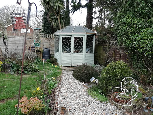 Garden Building Removal in Horsham - Stafford