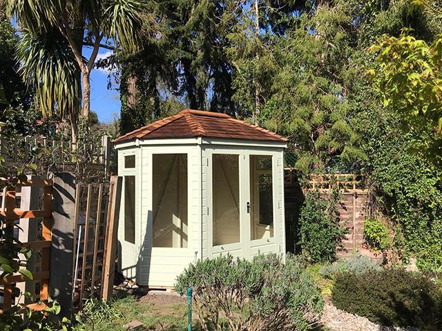 Regency Wingrove 8x6 Summerhouse Installation - Stafford