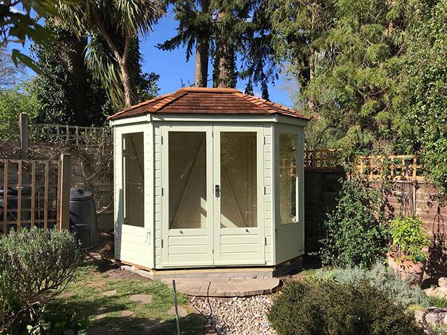 Regency Wingrove 8x6 Summerhouse Installation in Horsham - Stafford