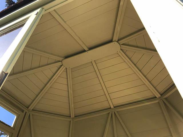 Regency Wingrove 8x6 Summerhouse Internal Roof Picture - Stafford