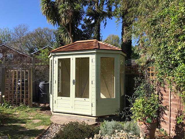 Regency Wingrove Summerhouse Design and Installation in Horsham West Sussex - Stafford