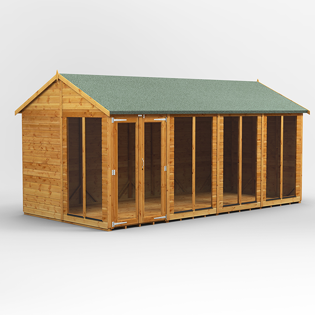 16x8 Summerhouse Apex
