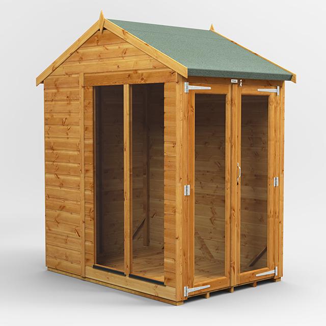 4x6 Summerhouse Apex