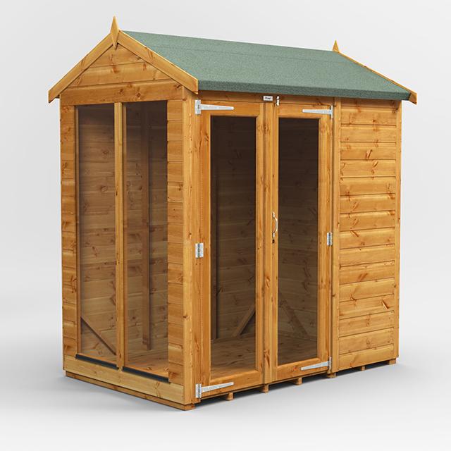 6x4 Summerhouse Apex