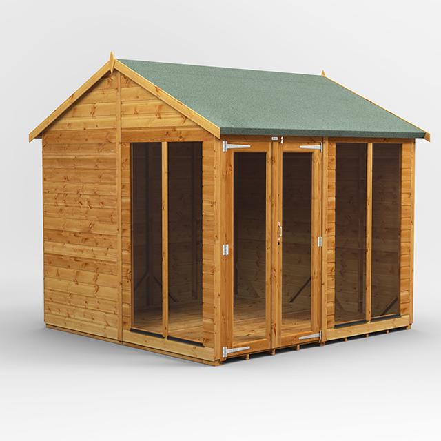8x8 Summerhouse Apex