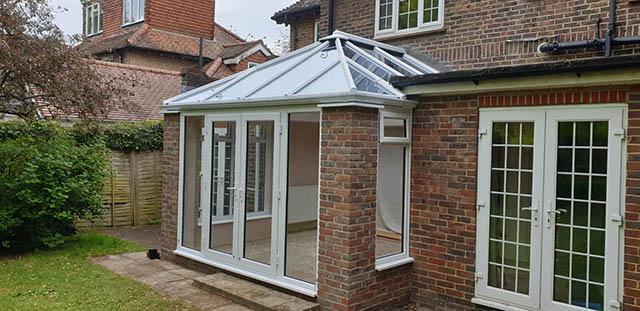 LivinRoom Conservatory Style Extension in Brighton - Elliott