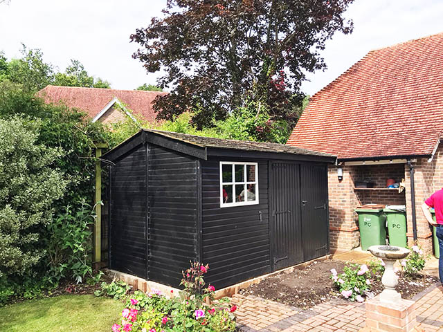 Malvern Holt 12x8 Garden Workshop - Hornsby