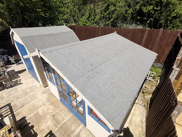 Shed Roof Re-Felt in Brighton East Sussex - Rummery