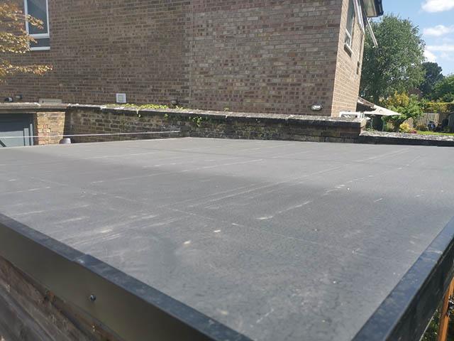 Shedsheet Rubber Roof Replacement in Horsham - Matthews