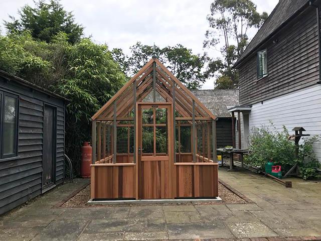 Alton 10x8 Cheltenham Greenhouse - Scrase-Dickens