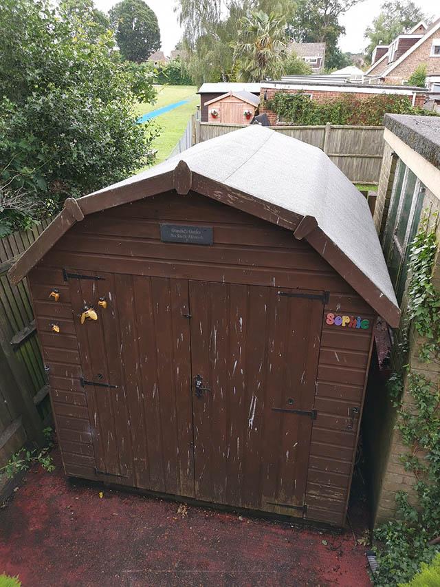 Barn Shed Re-Felt in Horsham - McGonnell