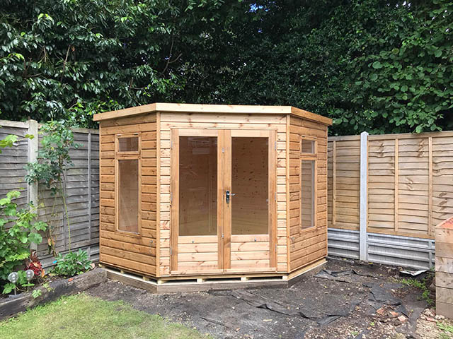 Lined and Insulated Regency Copeland Summerhouse - Hutchinson