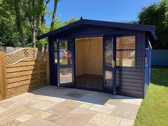 Malvern Arley Apex Home Office Installation in Cowfold West Sussex - Martin