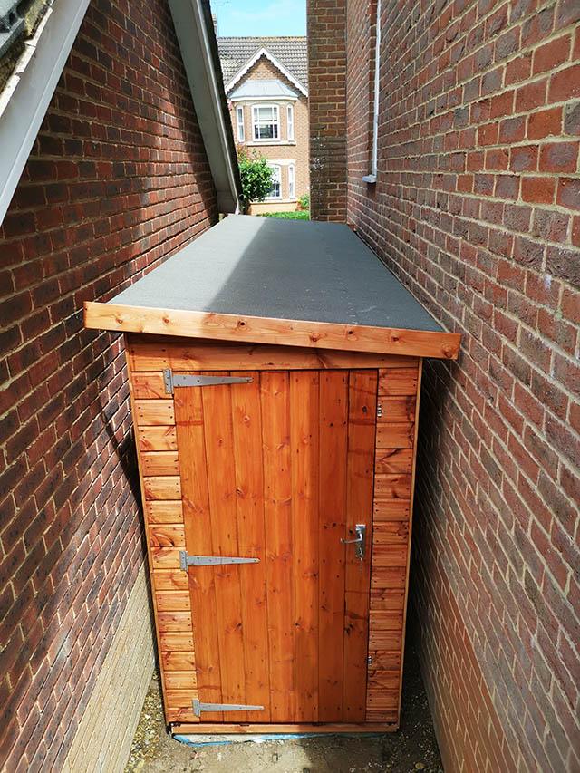 Regency Notton 14x4 Shed Installation in Horsham - Botting