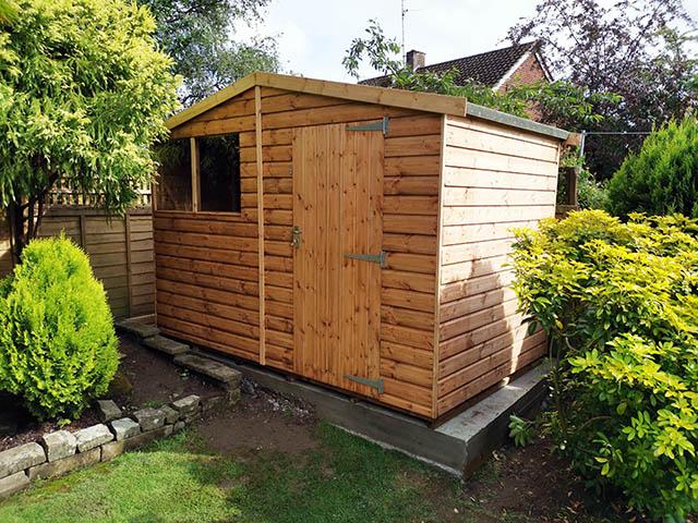 Regency Ultra Shed 10x6 Installation in Horsham West Sussex - Pye
