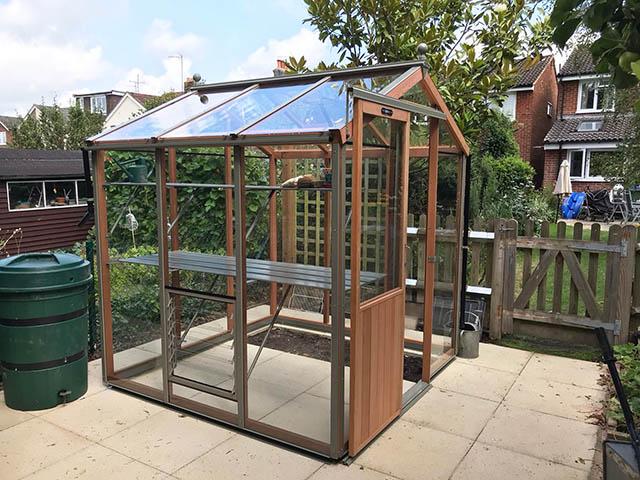 Alton Six Greenhouse Installation - McCurrach