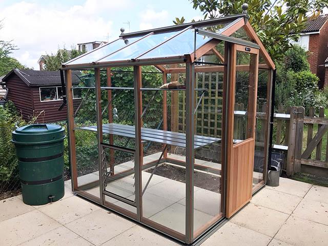 Alton Six Greenhouse Installation in Horsham West Sussex - McCurrach