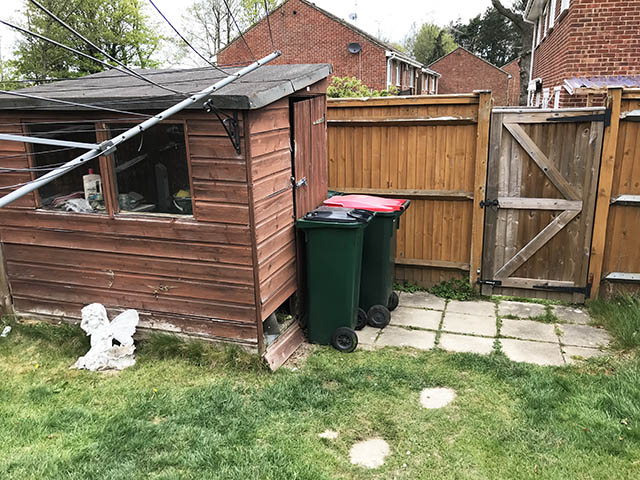 Old Shed That We Removed - Ballard