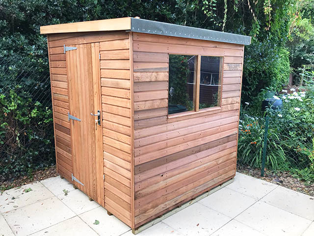 Regency Notton 6x6 Cedar Shed Installation - McCurrach